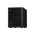 Сетевой накопитель WD My Cloud EX2100 12TB (WDBWAZ0120JBK-EESN)