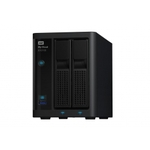 Сетевой накопитель WD My Cloud EX2100 8TB (WDBWAZ0080JBK-EESN)