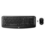 Клавиатура+Mышь HP LV290AA Black/Black USB