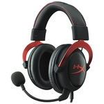 Наушники с микрофоном HyperX Cloud II (красный)