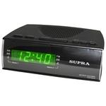 Часы-будильник с радио Supra SA-38FM Black/Red