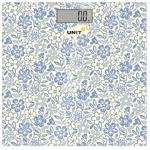 Напольные весы UNIT UBS-2051 (голубой)