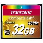Карта памяти Transcend 1000x CompactFlash Ultimate 32GB (TS32GCF1000)
