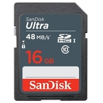 Карта памяти SanDisk Ultra SDHC Class10 16GB [SDSDUNB-016G-GN3IN]