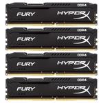 Оперативная память Kingston HyperX Fury 4x8GB DDR4 PC4-19200 [HX424C15FB2K4/32]