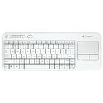 Клавиатура Logitech K400 Plus (920-007148) White