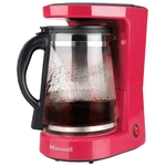Кофеварка MaxWell MW-1656 красный