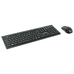 Мышь + клавиатура Oklick 250M Wireless Keyboard & Optical Mouse [997834]