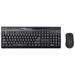 Клавиатура+Мышь Oklick 280M (MK-0253) Black