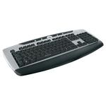 Клавиатура Oklick 370M Black/Silver USB