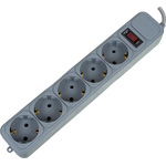 Сетевой фильтр PC Pet AP01006-1.8-GR 1.8м (5 розеток) Grey