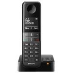 Радиотелефон PHILIPS D4551B/51 Black