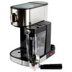Кофемашина Polaris PCM 1519AE серебристый/черный