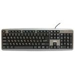 Клавиатура Dialog KM-025U Gray USB