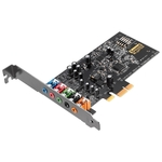 Звуковая карта PCI-E Creative SB Audigy Fx PCIex1 (SB157000000), RTL