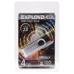 4GB USB Drive Exployd 530 EX004GB530-O (оранжевый)