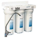 Фильтр для воды АкваОсмос АО 3 М PP 5 + GAC-KDF + CBC