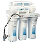 Фильтр для воды АкваОсмос АО 5 УФ PP 5 + GAC-KDF + ИОС + УФ + Т 33