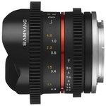 Объектив Samyang 8mm T3.1 V-DSLR UMC Fish-eye (Sony E)