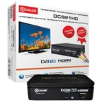 ТВ-тюнер D-Color DC921HD Black