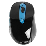 Мышь A4Tech G11-570FX (синий/черный)