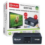 Приемник цифрового ТВ D-Color DC911HD