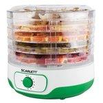 Сушка для фруктов и овощей Scarlett SC-FD421011 5под. зеленый