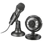 Веб-камера Trust Spotlight Streaming Pack (22093)