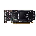 Профессиональная видеокарта 4Gb PCI-E PNY nVidia Quadro P1000 VCQP1000DVIBLK-1
