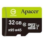 Карта памяти Apacer microSDHC (Class 10) 32GB + адаптер (AP32GMCSH10-R)