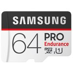 Карта памяти Samsung PRO Endurance microSDXC 64GB + адаптер