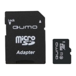 Карта памяти 128GB MicroSD Qumo (QM128GMICSDXC10U1)