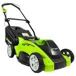 Колёсная газонокосилка Greenworks G40LM40 (без аккумулятора)