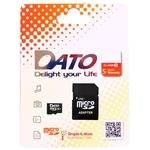 Карта памяти Dato microSDHC DTTF016GUIC10 16GB (с адаптером)