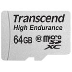 Карта памяти Transcend microSDXC HE (Class 10) UHS-I 64GB + адаптер [TS64GUSDXC10V]