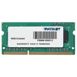 Память SO-DIMM DDR3L 4Gb Patriot PSD34G1600L82S