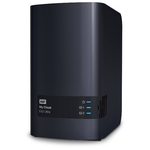 Сетевое хранилище NAS WD Original 4Tb WDBSHB0040JCH-EEUE My Cloud EX2 Ultra 2xDisk 2-bay