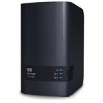 Сетевое хранилище WD WDBSHB0000NCH-EEUE My Cloud EX2 Ultra