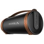Аудиомагнитола Supra BTS-877 черный/коричневый
