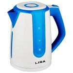 Электрочайник LIRA LR 0103 (бело-синий)