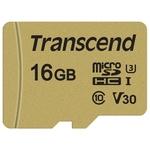 Карта памяти Transcend 16GB UHS-I U3 (TS16GUSD500S)