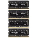Оперативная память HyperX Impact 64GB DDR4 SODIMM PC4-19200 (HX424S15IBK4/64)