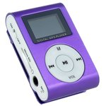 MP3 плеер Perfeo VI-M001-Display (голубой)