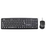 Клавиатура+Мышь Oklick 600M (MK-5330) Black