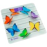 Весы напольные Delta D-9218 радужные бабочки