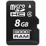 Карта памяти GOODRAM microSDHC (Class 4) 8GB + адаптер (M40A-0080R11)
