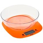 Кухонные весы Delta KCE-32 оранжевый
