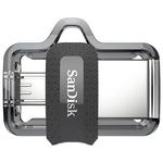 USB Flash SanDisk Ultra Dual M3.0 128GB [SDDD3-128G-G46]