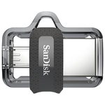 USB Flash SanDisk Ultra Dual M3.0 16GB [SDDD3-016G-G46]