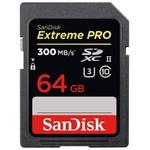 Карта памяти SanDisk Extreme PRO UHS-II SDXC 64GB [SDSDXPK-064G-GN4IN]